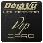 Deja Vu Showgirls Kalamazoo - VIP Card