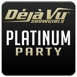 Déjà Vu Showgirls Lexington - Platinum Package