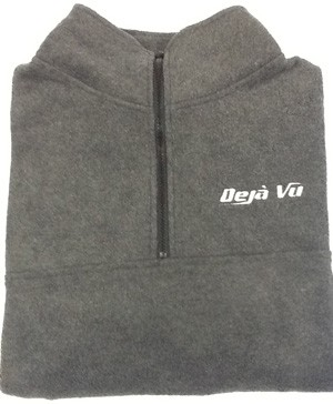 Déjà Vu Fleece Jacket Royal - Size Small
