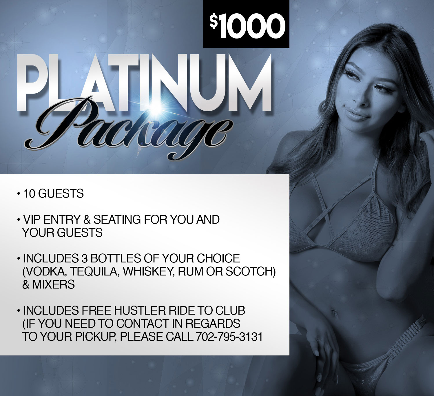Hustler Club Las Vegas - Platinum Party